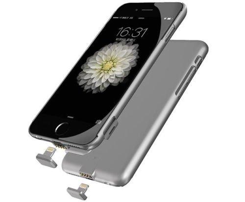 """Corst Coque ultra fine de batterie externe rechargeable pour iPhone 6/6S de 4,7"""" (11,9cm) Argent"""