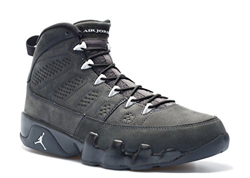 Nike Air Jordan 9 Retro, Chaussures de Sport Homme, Multicolore anthracite, white-black