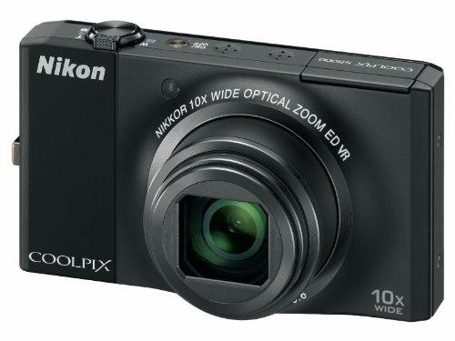 Nikon Coolpix S8000 Digitalkamera (14,2 Megapixel, 10-fach Zoom, 7,5cm (3,0-Zoll) Display) schwarz