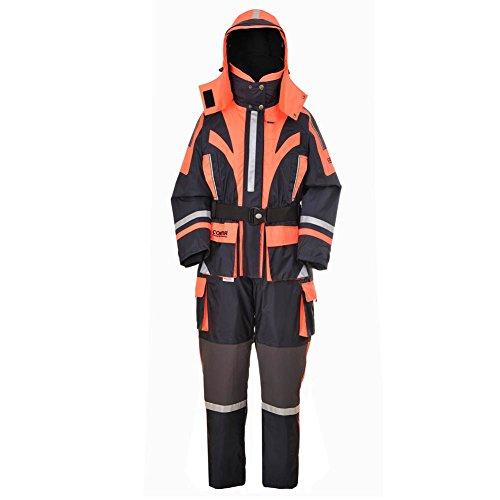 greatrees Damen Nylon Outdoor Angeln Lebensrettend Freeride Overall, orange Passt