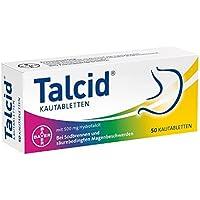 Bayer Vital TALCID Kautabl. 50 Stück preisvergleich bei billige-tabletten.eu