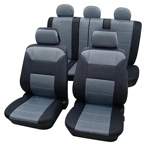 grey-black-leather-look-seat-cover-set-kia-sorento-2002-onwards