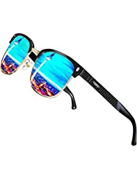 ATTCL Hombre Gafas De Sol Polarizadas Estructura De metal Al-Mg