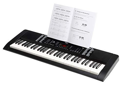 Funkey 00038126 61-Edition Keyboard (128-Sound, 128-Rhythmen, 10-Demo Song, Netzteil, Notenständer) schwarz - 3
