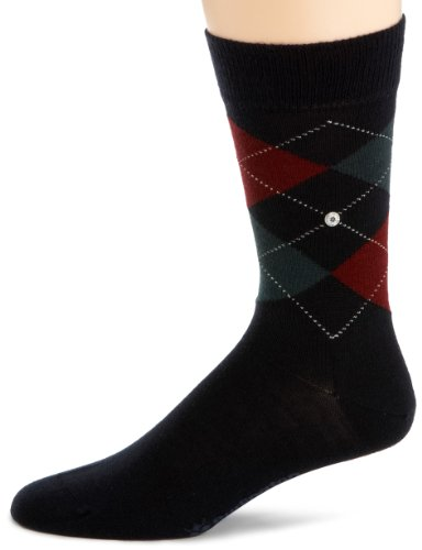 Burlington Org 156 WO SO 21182 Herren Socken, Gr. 40-46(ein Paar), Blau (dark navy 6376 )