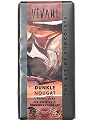 Vivani Orangic Dark Nougat Chocolate, 100 g