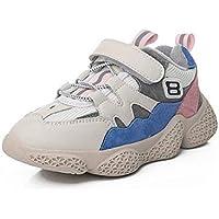 zj Zapatillas de Deporte de Terciopelo para Niños Y Niños Zapatos de Invierno para Niños, Niñas Y Niños, Zapatos Casuales, Zapatillas Deportivas, Zapatillas de Deporte Ligeras,Azul,37