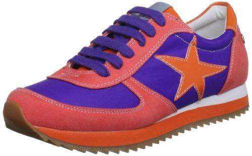 Blink Trainer-Bl 416-601190-E, Baskets mode femme Orange (Purple/Orange)