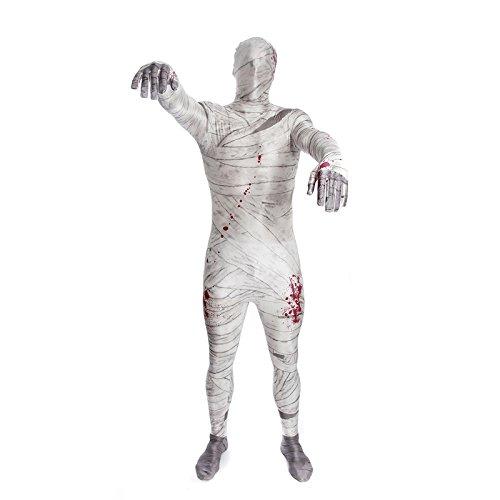 Morphsuits MPMUL - Kostüm Mumien, L (Mädchen Morphsuits)
