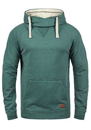 L/s Zip Pullover (BLEND 703585ME Kapuzenpullover, Größe:XL;Farbe:Green Atlantic (77194))