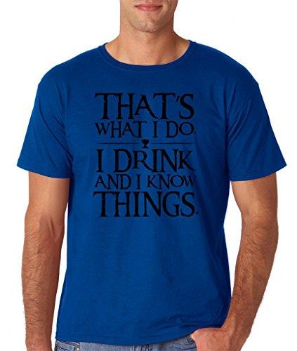 Daataadirect Herren T-Shirt Small Königsblau