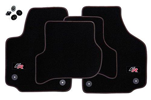 Preisvergleich Produktbild 'FR' Fußmatten für Seat Leon 2 II 1P Bj 2005-2012