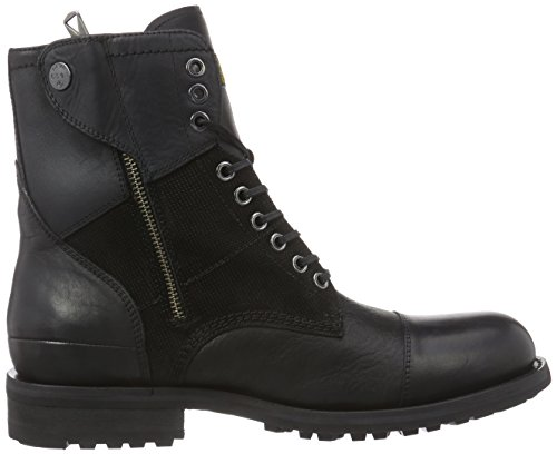 G-Star Patton V Battalion Herren Combat Boots Schwarz (Black Lthr & Suede 300)