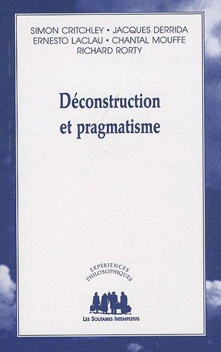 Dconstruction et pragmatisme