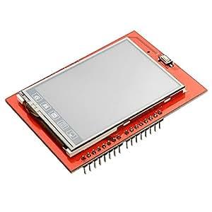 2,4 pouces TFT LCD tactile Conseil Bouclier module d'affichage Pour Arduino Uno