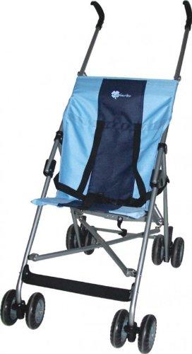 United Kids 506355 Buggy - Kinderwagen A201 -Extra leicht, hellblau/dunkelblau