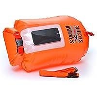 Swim Secure boya de natacion ventana drybag SELFIE 28L,naranja, bolsa impermeable