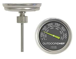 Outdoorchef Grillzubehör, Thermometer, schwarz, 5,3x5,3x7 cm, 18.211.66