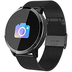 Montre Connectée L-29 Bracelet Connecté Fitness Tracker d'Activité Montre Cardio Sport avec Cardiofréquencemètre,Sommeil,Podomètre,Calories,Mode multi-sport pour iPhone Android Femme Homme