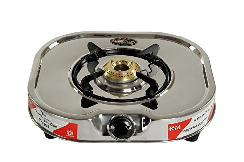 Safeline Club Stainless Steel Single Burner Manual Gas Stove