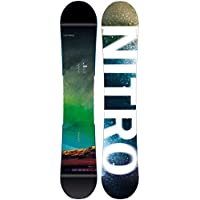 Nitro Team Exposure Wide BRD Freestyle Snowboard pour Homme