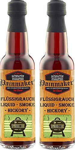 Painmaker`s Liquid Smoke HICKORY 2 x 100ml