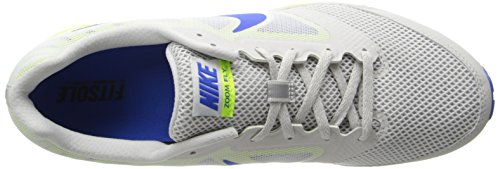 Nike Performance coossi Fly corsa scarpa 630915 004 grigio giallo grande corsa 43 45,5 scarpe. Grigio (grigio)