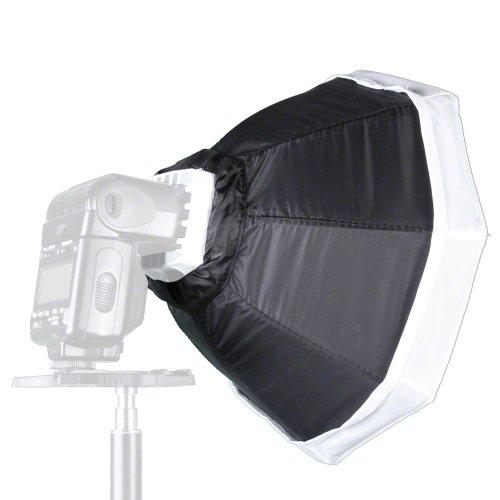 Walimex Octagon Softbox (Durchmesser 30 cm) für Kompaktblitz