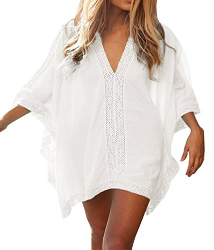 HIMONE-Womens-Solid-Oversized-Bikini-Cover-Up