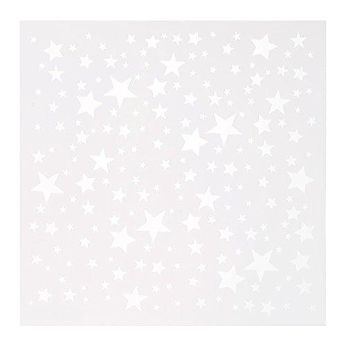 (HuntGold CK601DIY Décor-Kochfeld Sterne Kaffee Milch Kuchen Cupcake Schablone Backform-Modell Gabarit)