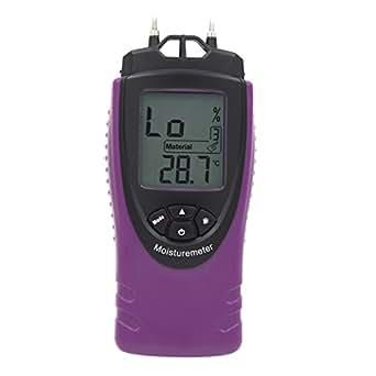 douself Mini professionnel Handheld numérique LCD Humidimètre Humidité testeur pour Béton Bois