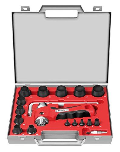 Paffrath Satz koppelbare Lochstanzer  inklusive Kreisschneider, Durchmesser 3 - 30 mm, 0810330