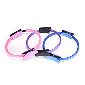 SELUXU Pilates Ring Fitness Ring Fitness Magic Circle Fitness-Training für Muskelaufbau Oberschenkel, Bauch und Beine