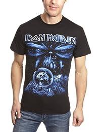 Official License Iron Maiden  Album Spaceman Men's T-Shirt