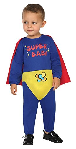 Atosa 30559 - Super Held, Babykostüm, 12-24 Monate (Hund Super Helden Kostüme)