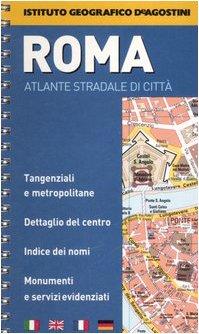 Roma 1:13.000 (Atlanti tascabili di città) por Instituto Geografico DeAgostini