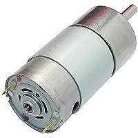 LoveOlvidoE Motor Reductor de Engranaje de Alto par 37GB-550 DC 12V 300RPM