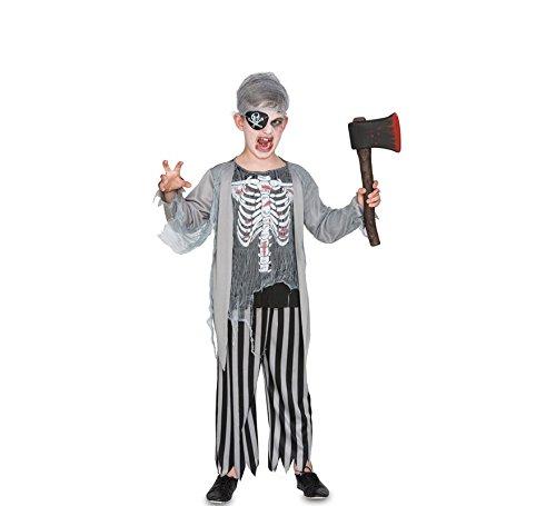 Weiblich Pirat Kostüm Zombie - Fyasa 706511-t02Piraten Zombie Kostüm, Mittel