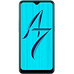 OPPO A7 (Glaze Blue, 4GB RAM, 64GB Storage) with Offer