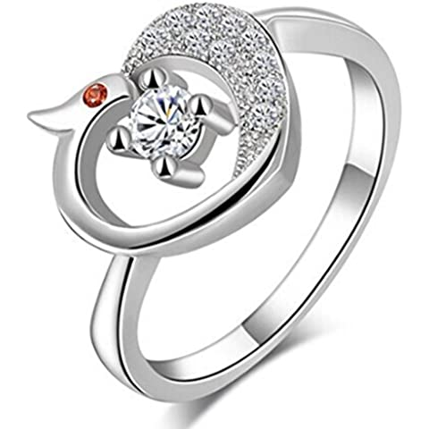 SaySure - 925 sterling silver Phoenix ring (SIZE : 6)