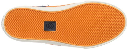 Converse  Pro Lea Vul Mid,  Sneaker unisex bambino Blau (Marine/Orange)