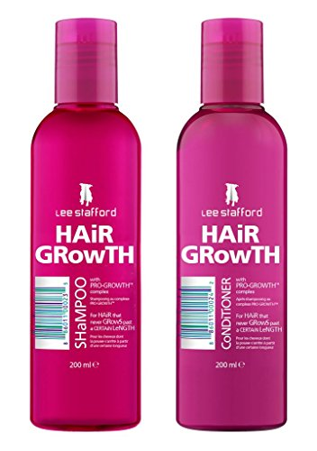 Lee Stafford Hair Growth Moisturising Conditioner With Pro Growth Complex 200ml Qty 2 -