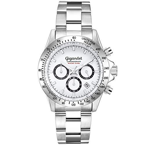 Gigandet Herrenuhr Analog mit Edelstahlarmband Race King G33-001 - Invicta Replica Watches