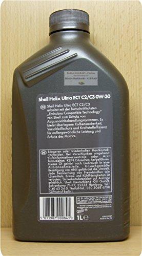 Shell Helix Ultra ECT C2/C30W-301L