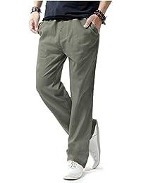 Match Pantalons Casual Lin pour Homme #8059