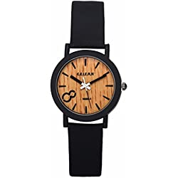 SAMGU Quartz Men Watches Casual Wooden Color Leather Strap Watch Wood Male Wristwatch Style 7