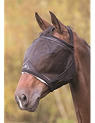 Shires Earless Masque anti-mouches en maille fine