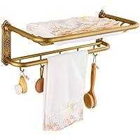 A ASL Cuarto de baño Cuarto de baño de Cobre plegadora de toallitas