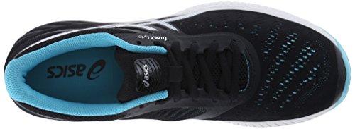 Asics FuzeX Lyte Synthétique Baskets Onyx-White-Turquoise