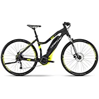 HAIBIKE Sduro Cross 4.0 Damen schwarz/lime matt 2017 E-Crossbike
